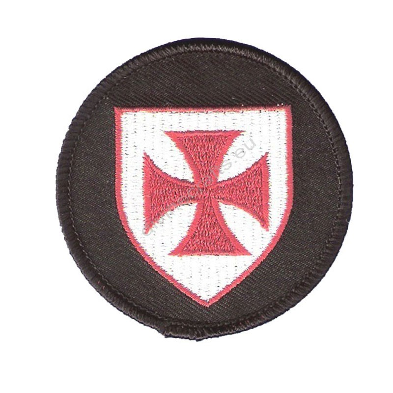 Knights Templar Shield Patch