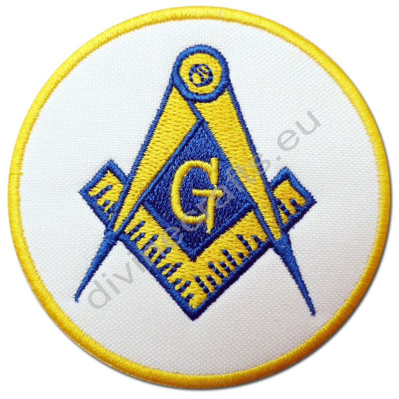 Masonic Square Compasses Embroidery Patches