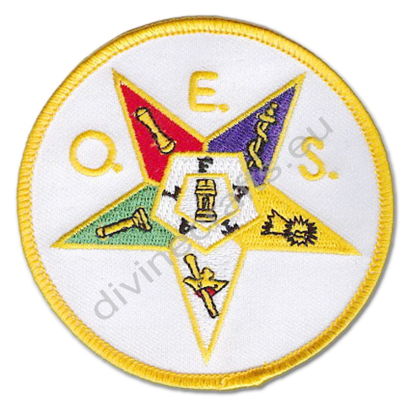 Masonic Order Of The Eastern Star Patch