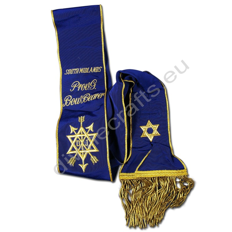 Masonic Secret Monitor Provincial Sash
