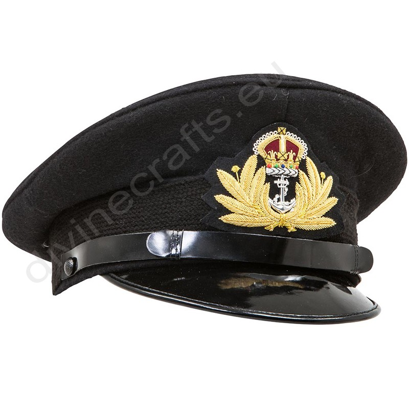 Royal Navy Officers Peak Cap
