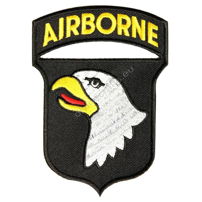 Black Airborne Patch