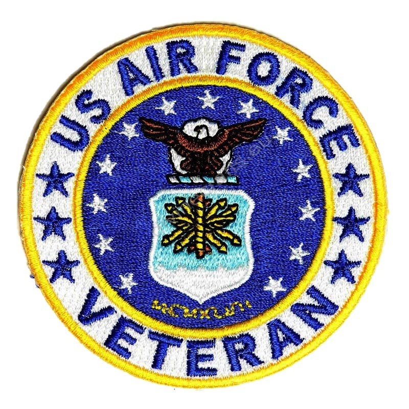 US Air Force Round Patch