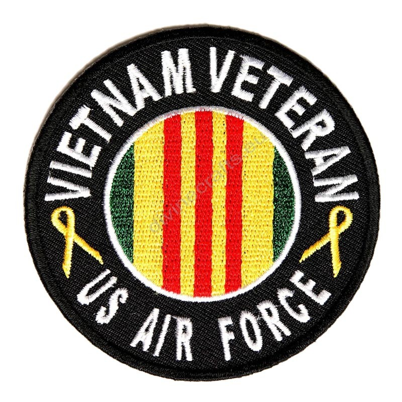 Vietnam Air Force Round Patch