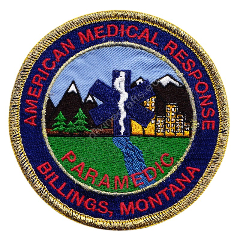 American Medical Respone Embroidered Patch