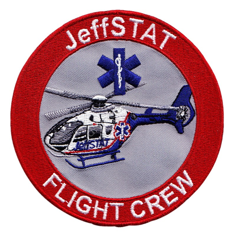 Jeffstat Embroidered Patch