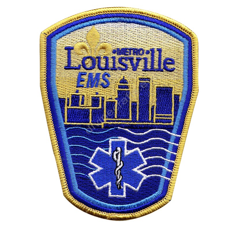 Laousville Embroidered Patch