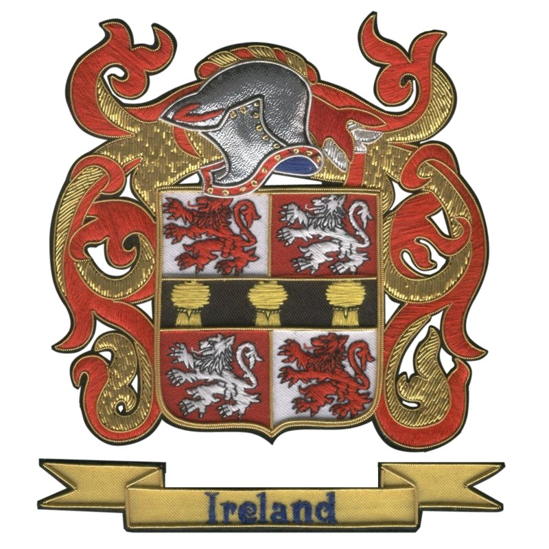 Ireland Lolley Family Crest Badges