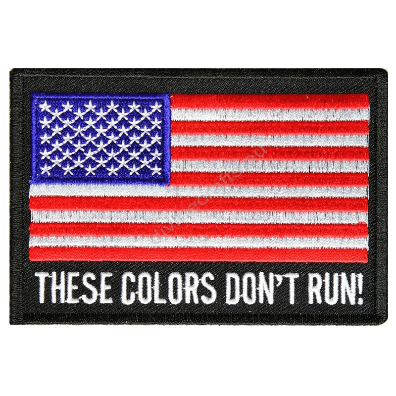 US Embroidery Flag Patch