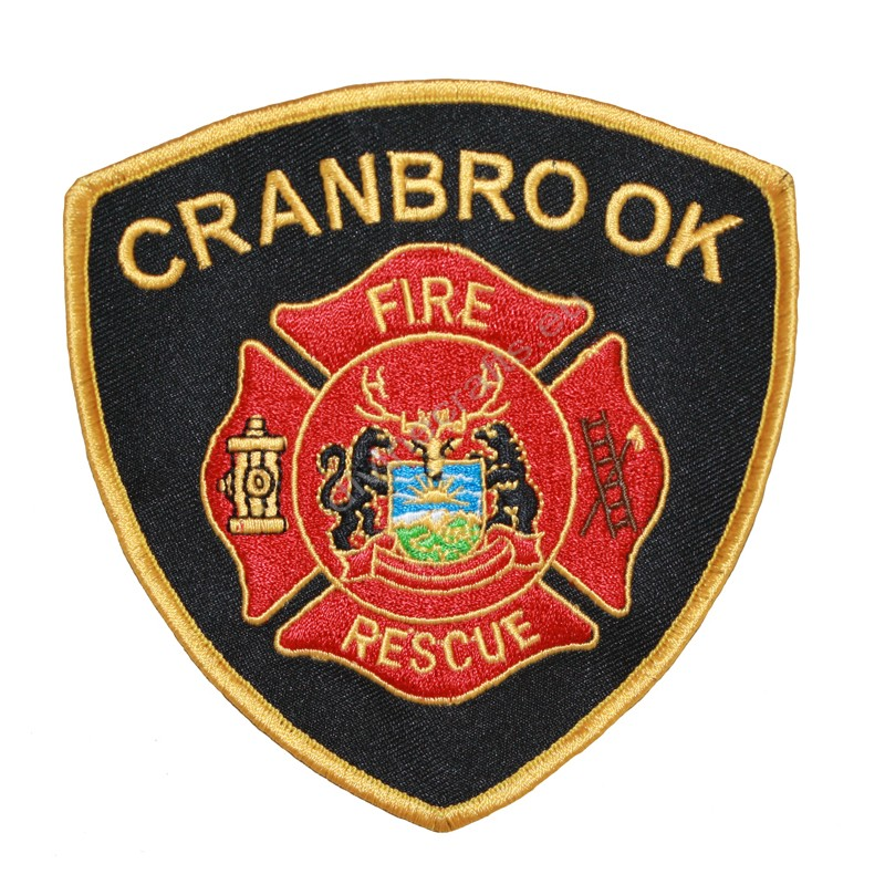 Fire Cranbrook Red Patches