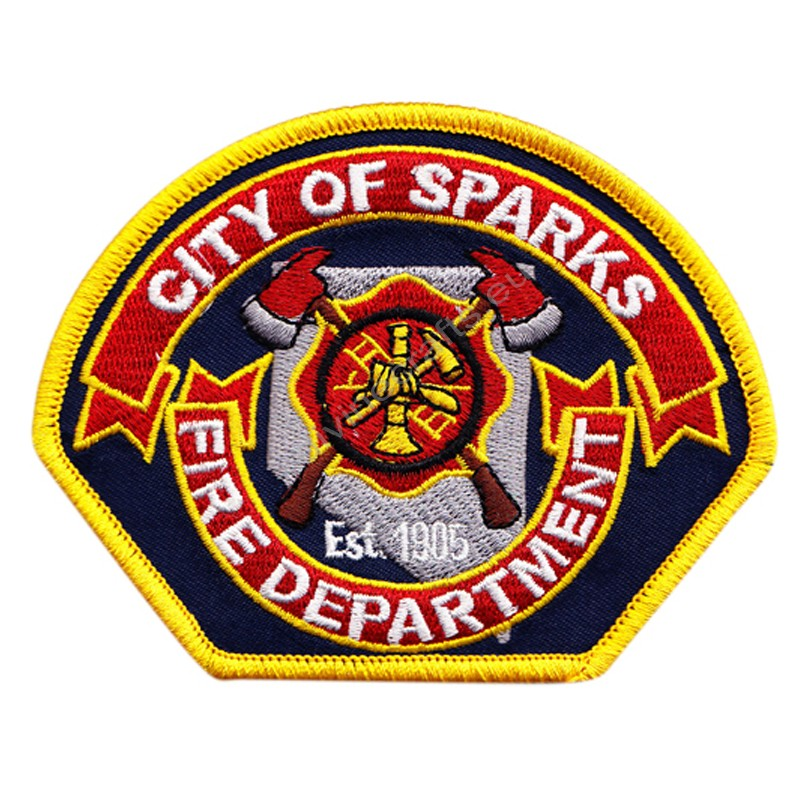 Sparks Embroidered Patch