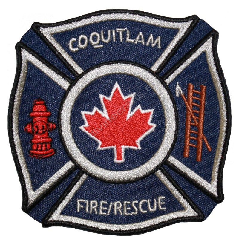 Embroidered Fire Coquitlam