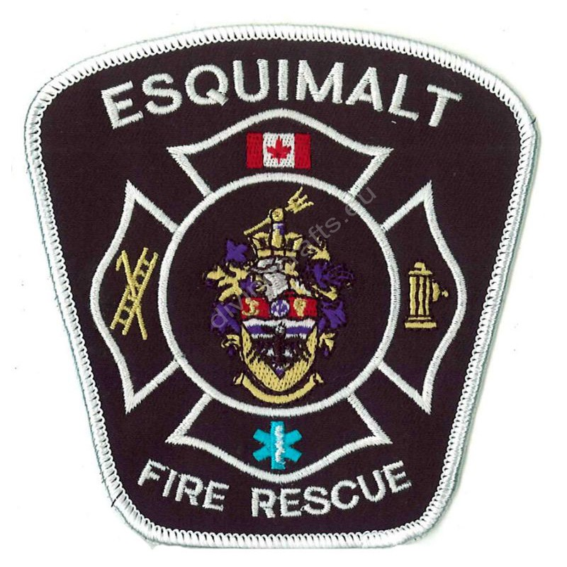 Embroidered Fire Esquimalt