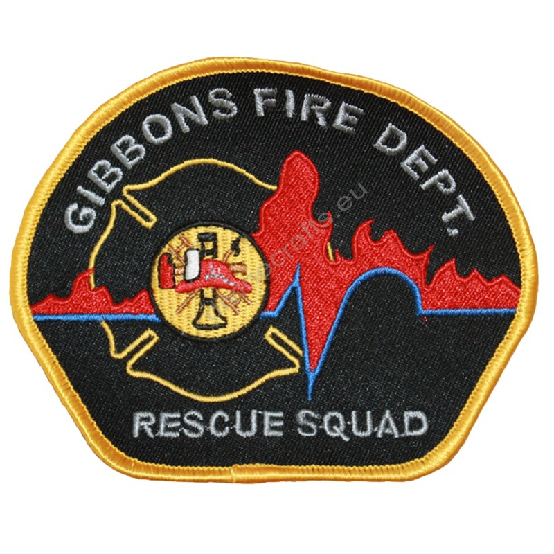 Fire Gibbons Embroidery Patch