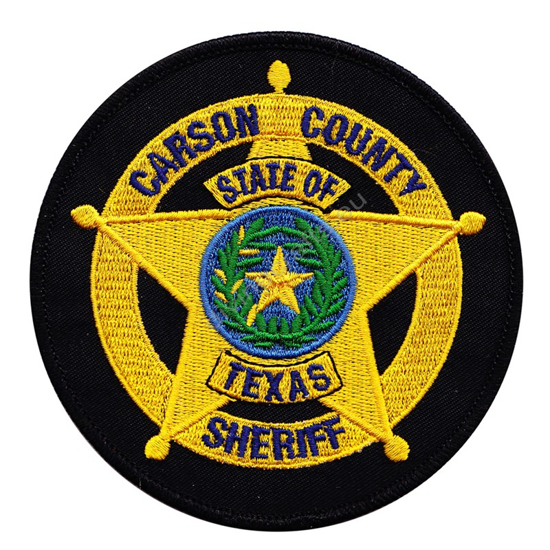 Carson County Sheriff Embroidered Patch