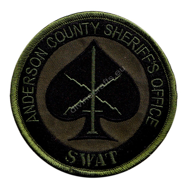 Anderson County Sheriffs Swat Embroidered Patch