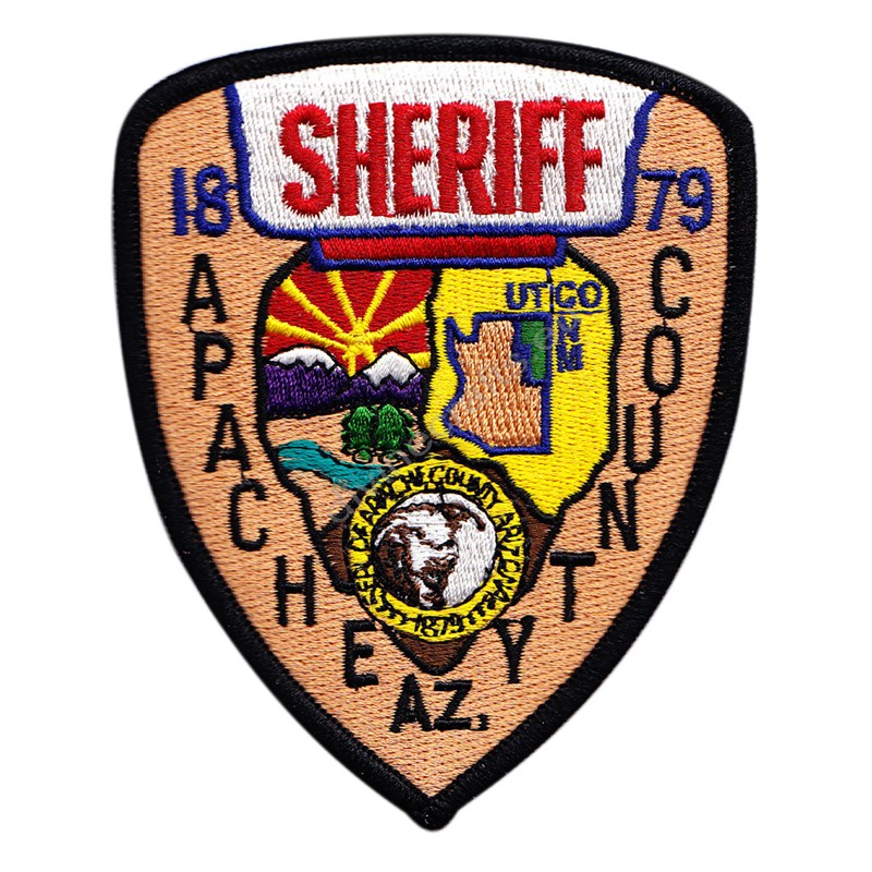 Apachea Sheriff Embroidered Patch