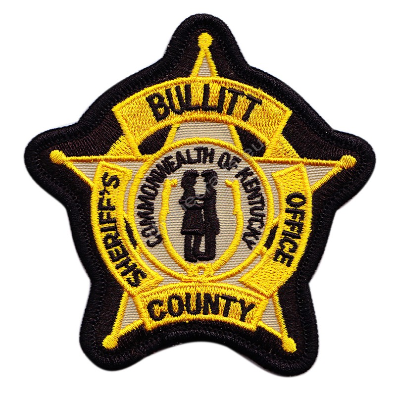Bullitt Sheriff Office Embroidered Patch