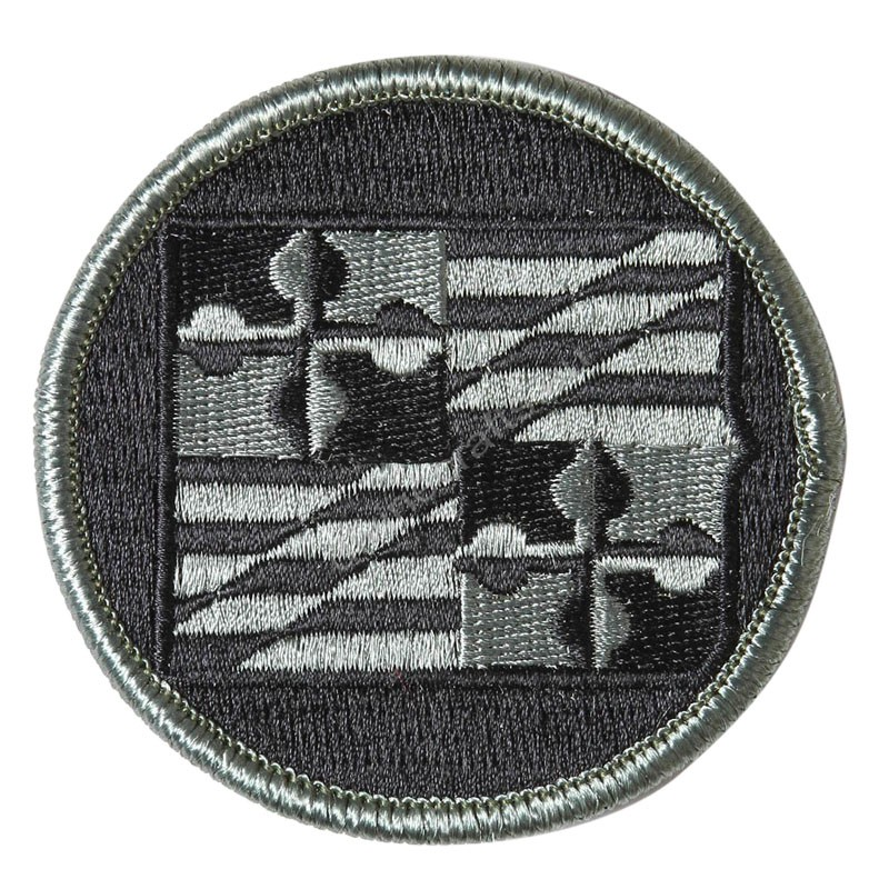 Round Military Patch