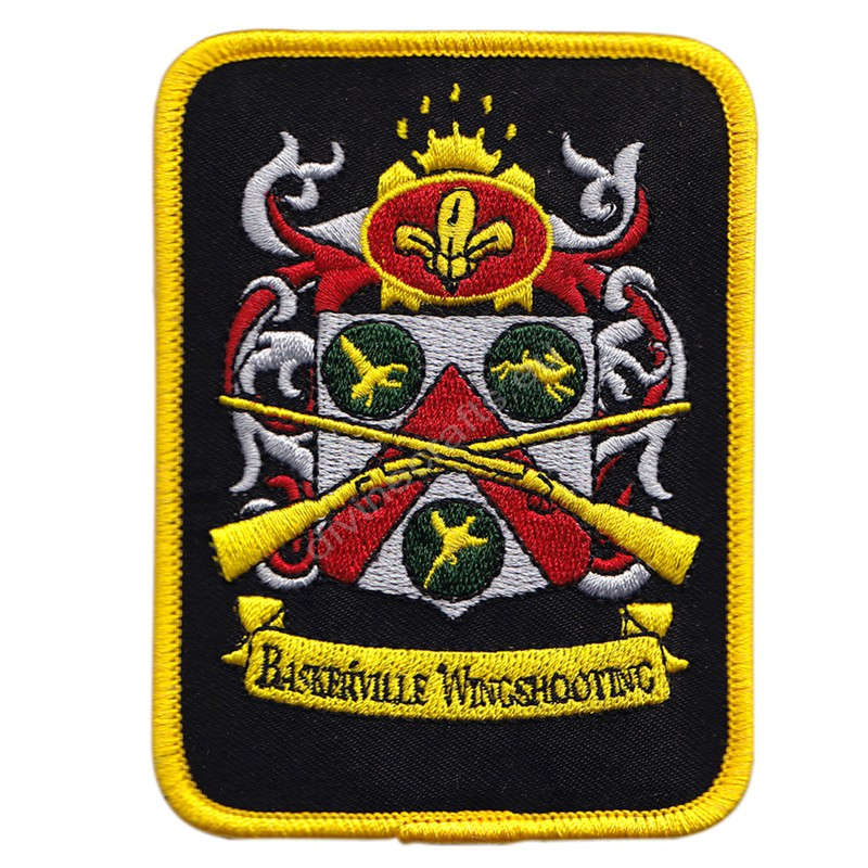 Baskerville Wingshooting Embroidered Patch