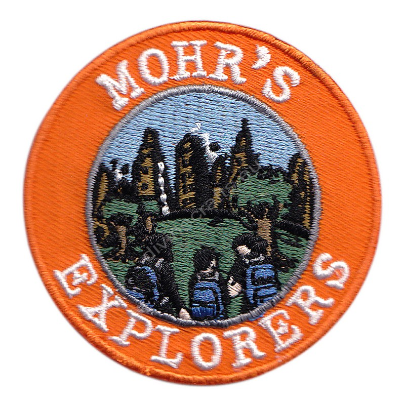 Mohrs Explorer Embroidered Patch