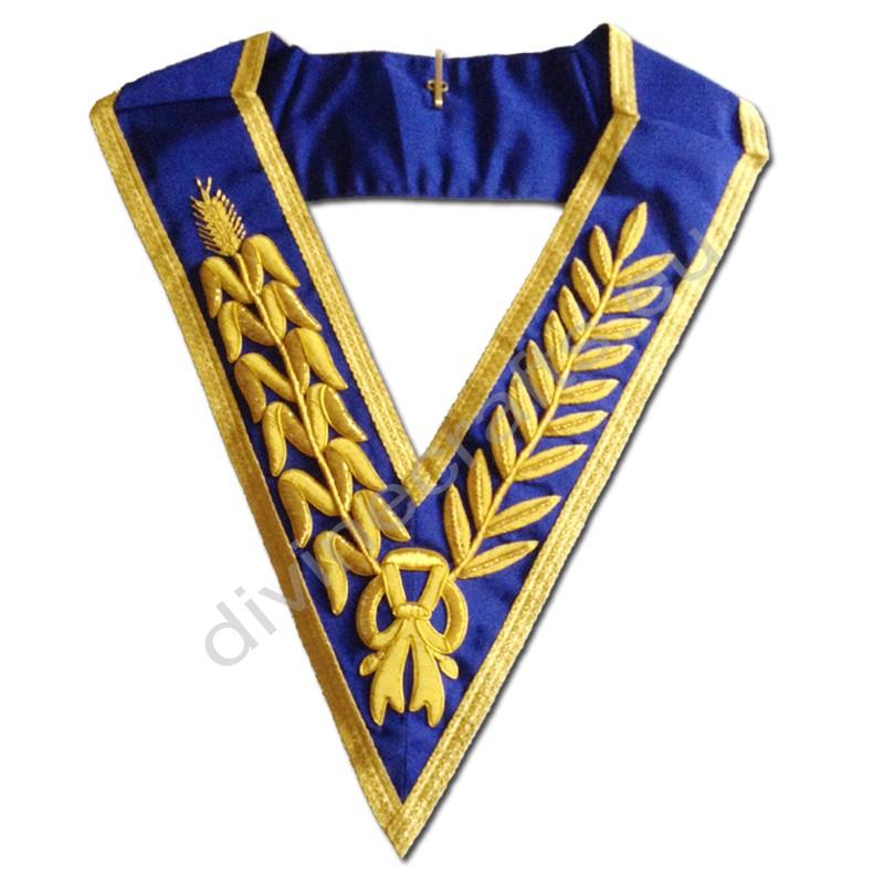 Masonic Grand Lodge Embroidered Collar