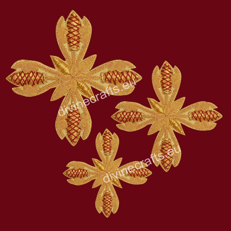 Embroidered Cross Set  for Byzantine