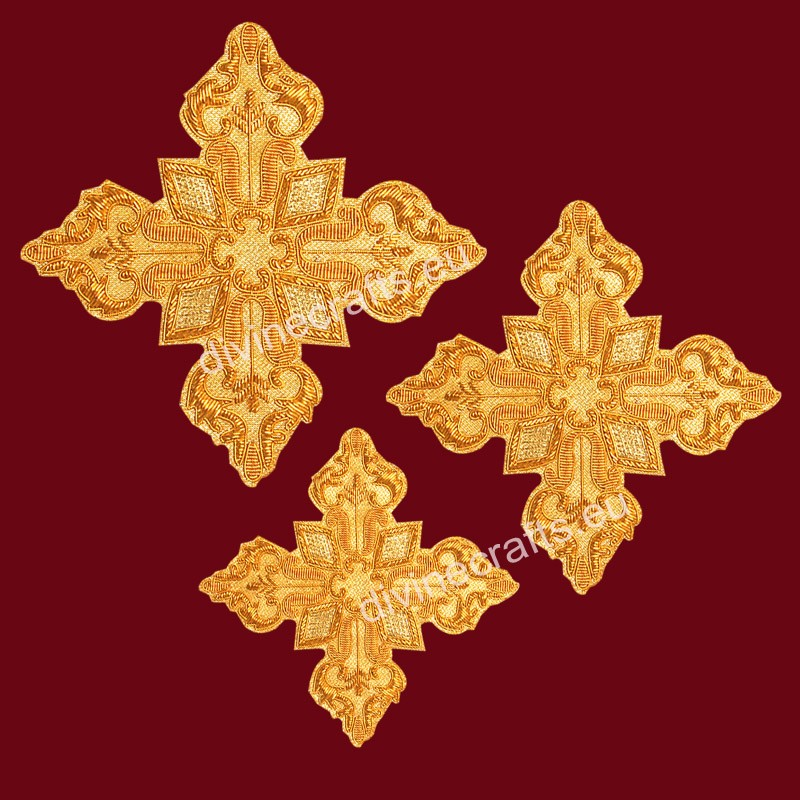 Embroidered Cross Set For Orthodox