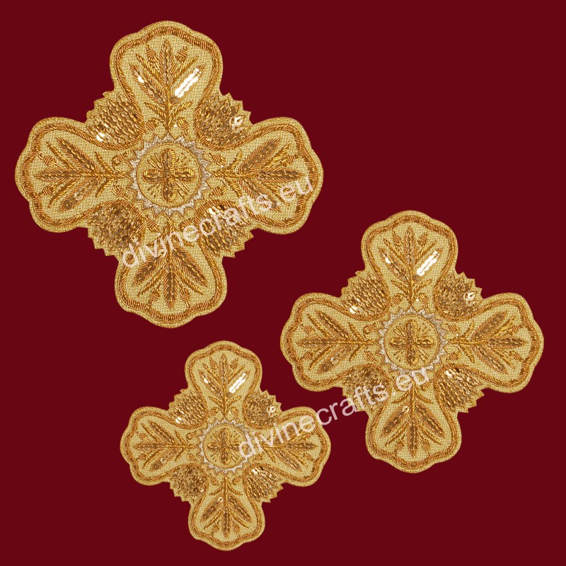 Hand Made Cross Set of Tirtiri Gold