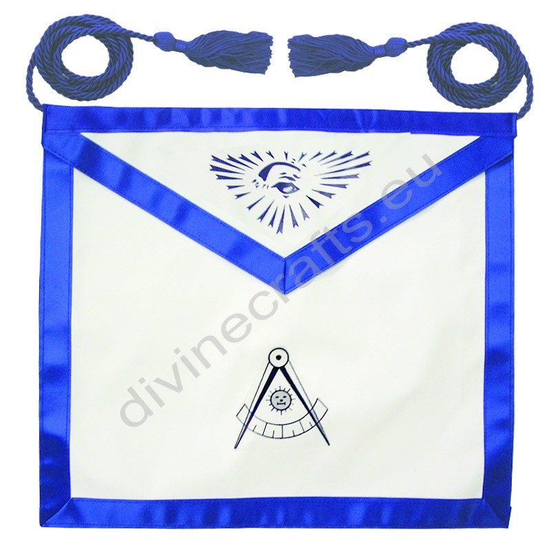 Leather Past Master Printed Apron