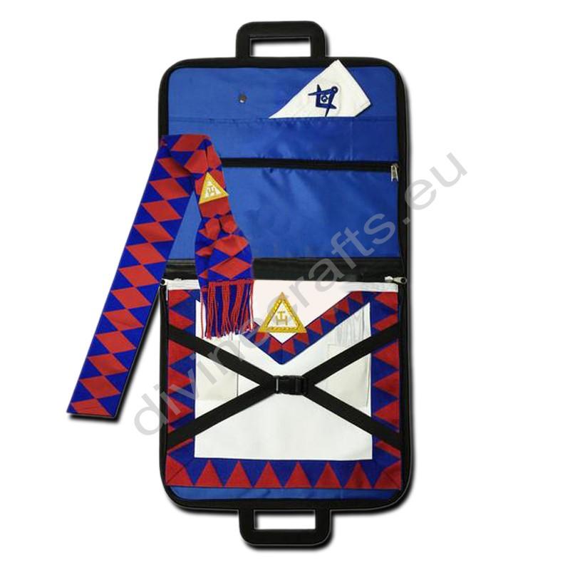 Masonic Regalia Royal Arch Companion Apron,Masonic Case,Sash,Gloves Set