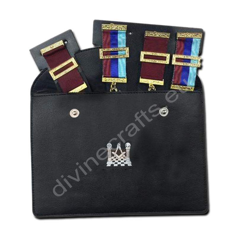 New Masonic Regalia Pocket Jewel Holder / Wallet Masonic Carry Case X Large
