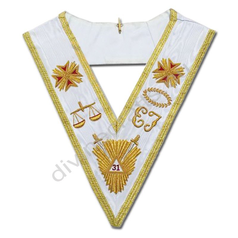 Rose Croix 31st Degree Collar