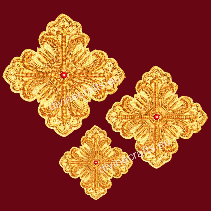 Update Design of Embroidered Cross Set