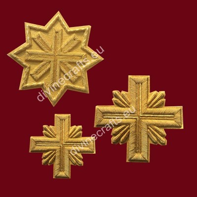 Eastern Orthodox Christian Corss Set