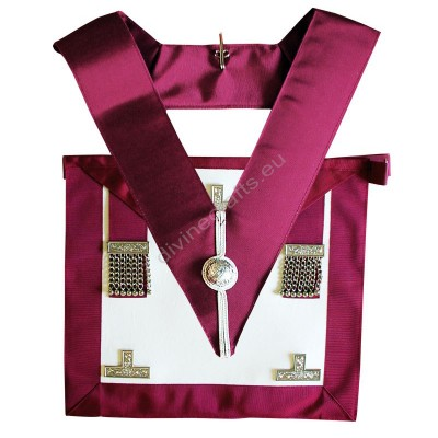 Provincial Stewards Apron & Badge - Leather