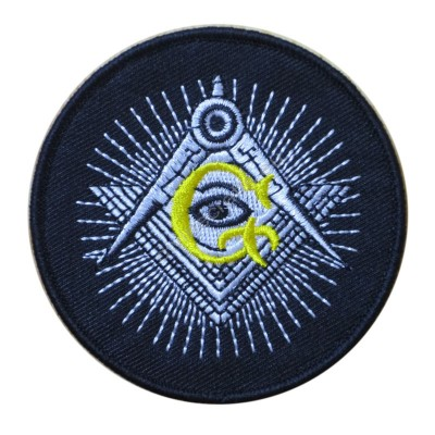 Masonic Embroidery Polyester Patch