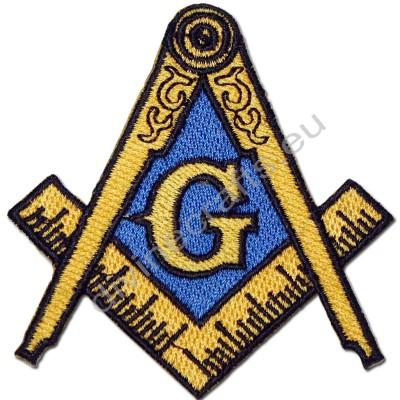 Embroidered Treasure Masonic Emblem Patch