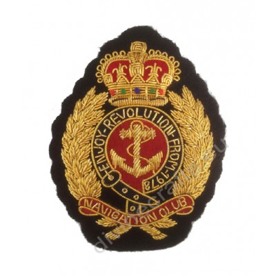 Embroidered Bullion Wire Patches