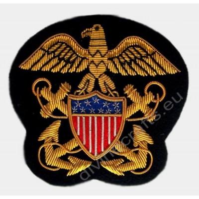 US Bullion Wire Blazer Badge