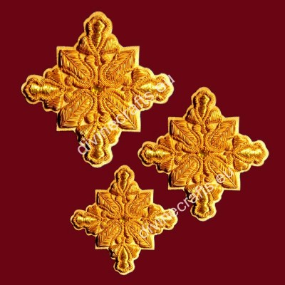 Applique Embroidered Cross Set
