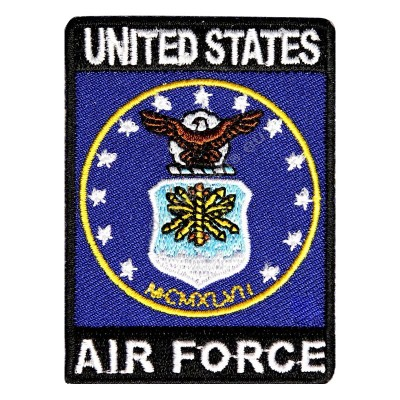 US Air Force Rect Patch