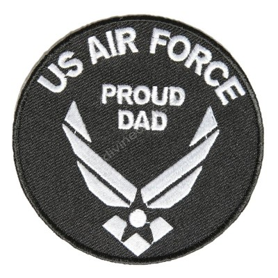 US Air Force Proud DAD Patch