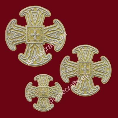Eastern style cross set
