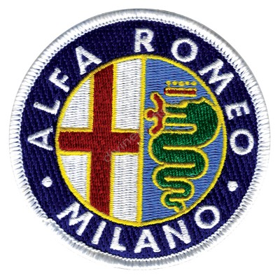 Alfa Romeo Milano Embroidered Patch
