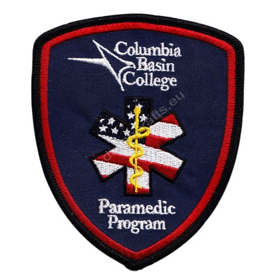 Columbia Basin College Embroidered Patch