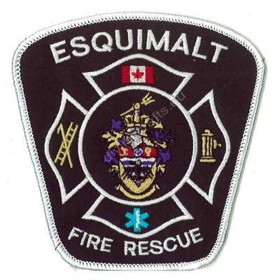 Embroidered Fire Esquimalt