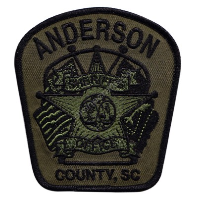 Anderson Sheriff Embroidered Patch