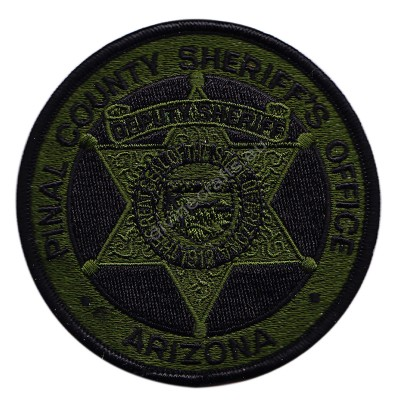 Arizona Sheriff Embroidered Patch