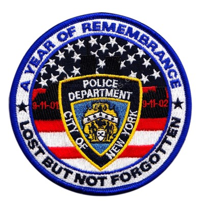 Rememberance Embroidered Patch